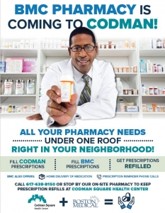 Boston Medical Center Opens Pharmacy at Codman Square Health Center