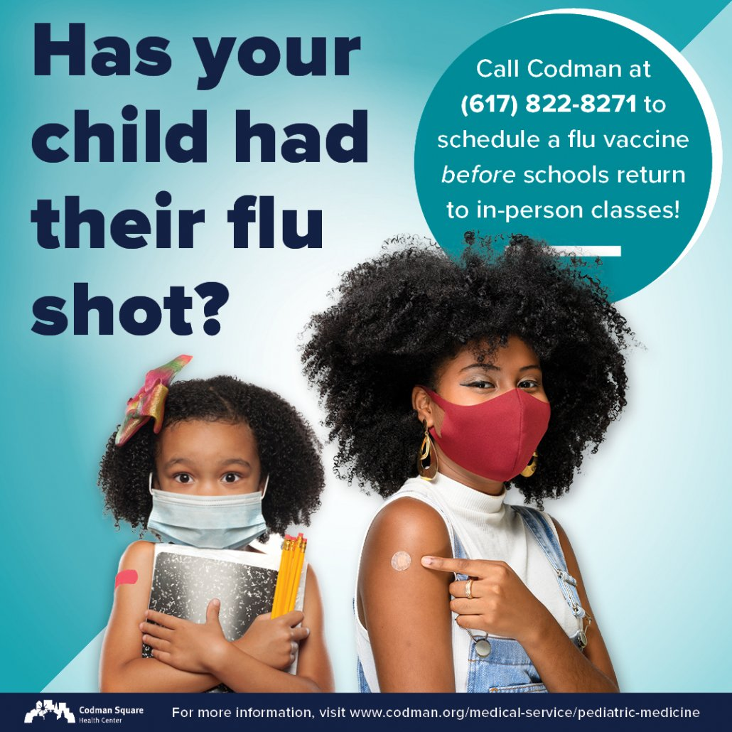 Has your child had their flu shot?