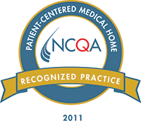 Patient-Centered Medical Home recognized practice seal