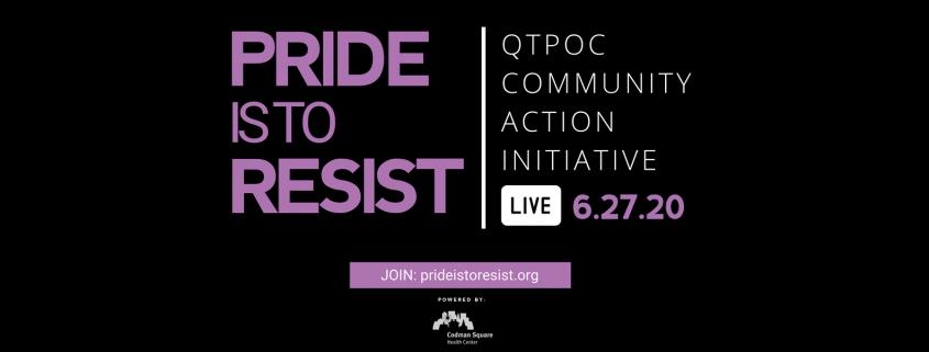 Pride Is To Resist
