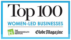 Top 100 Women Led Businesses logo