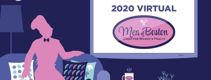 Men of Boston Cook for Women's Health Promotional Banner
