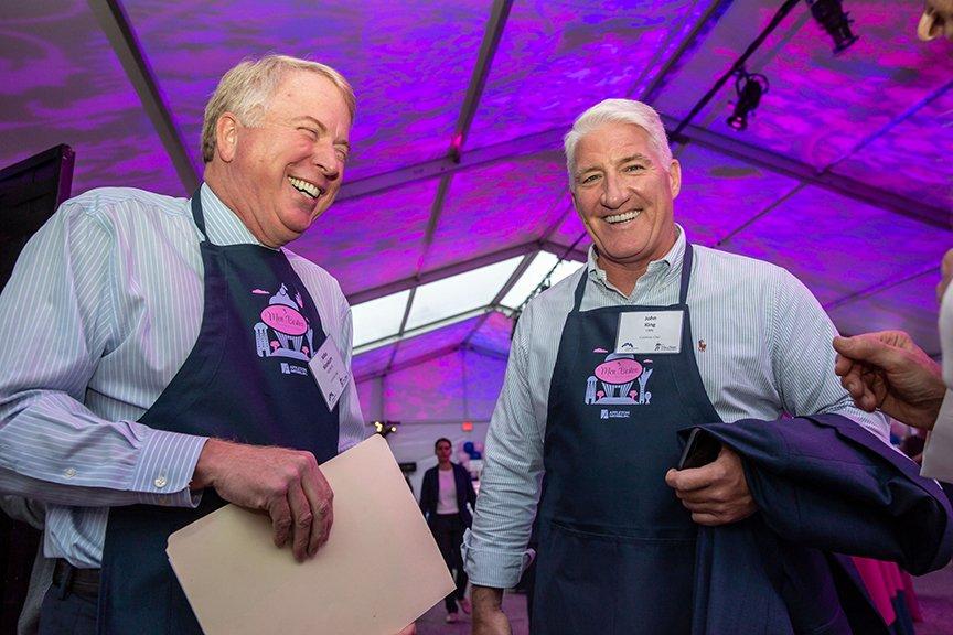 Mike Wankum and John King