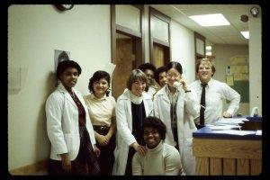 Original staff in 1979