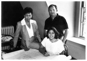 Bill Walczak & other staff in loft